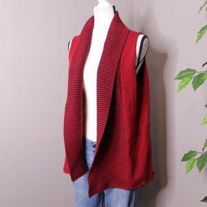Nomadic Traders Vest Cardigan Ribbed Knit